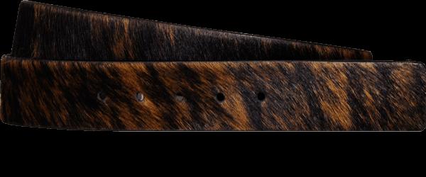 Cowhide Nubuck Leather Appaloosa Toast Black Sku 614