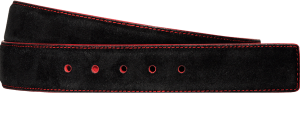 Suede Nubuck Leather Black Shadow Red Sku 618